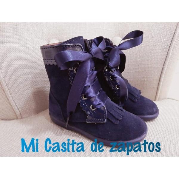 c2407954a PASCUALA CHUCHES CHAROL Y SERRAJE MARINO - Mi casita de zapatos
