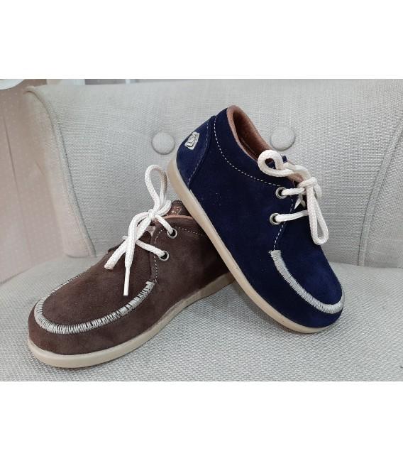 Zapato niño serraje casual RODIA